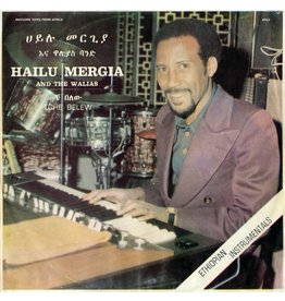 Awesome Tapes From Africa Mergia, Hailu & The Walias: Tche Belew LP