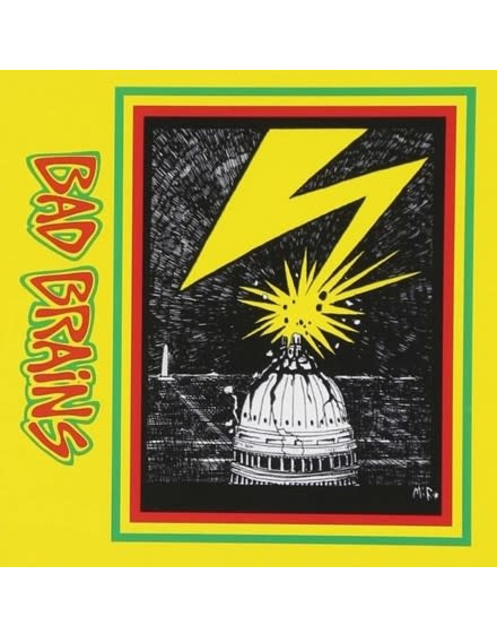 ORG Bad Brains: Bad Brains (Red & White splatter) LP