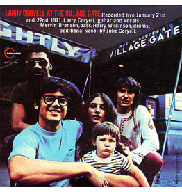 Culture Factory Coryell, Larry: 2021RSD1 - At The Village Gate (translucent blue) LP