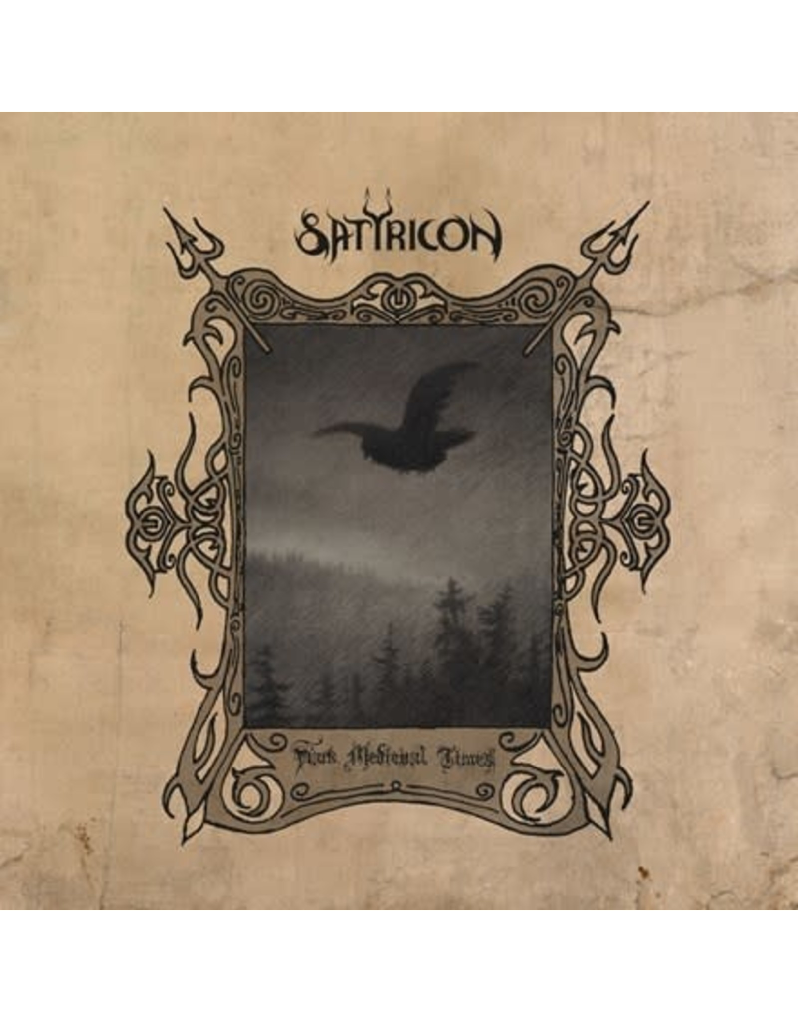Napalm Satyricon: Dark Medieval Times LP