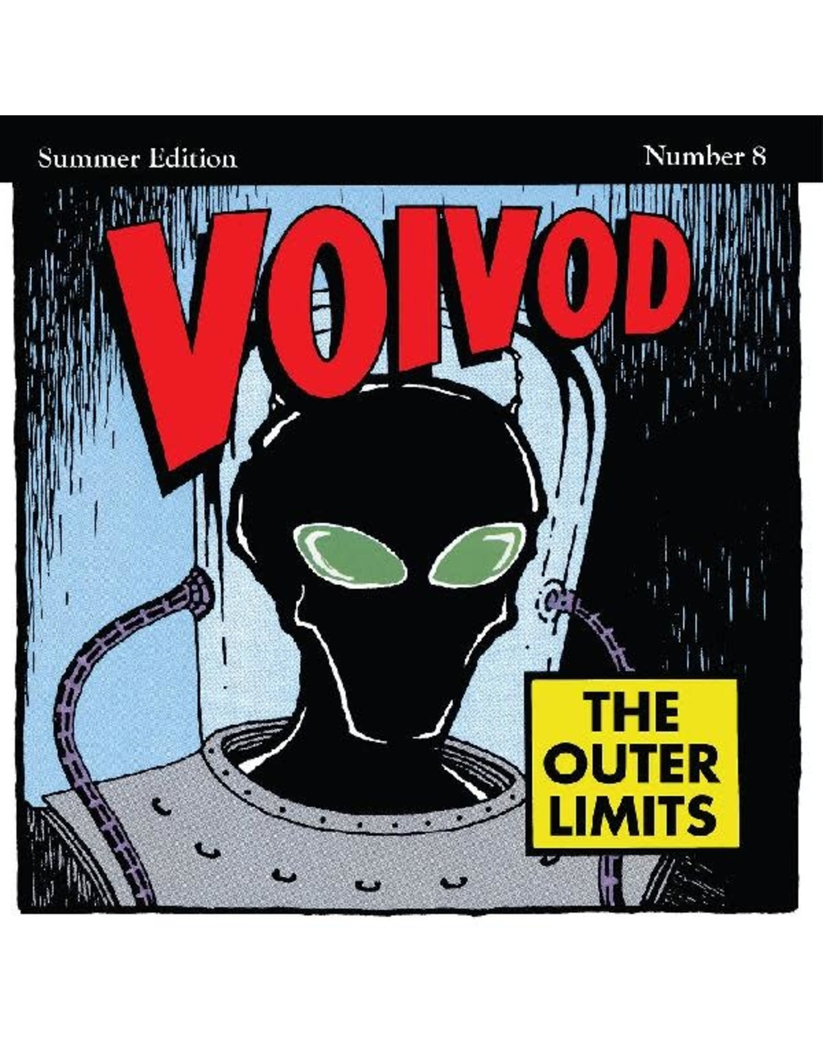 """Real Gone Voivod: The Outer Limits (""""Rocket Fire"""" Red with Black Smoke)  LP"""