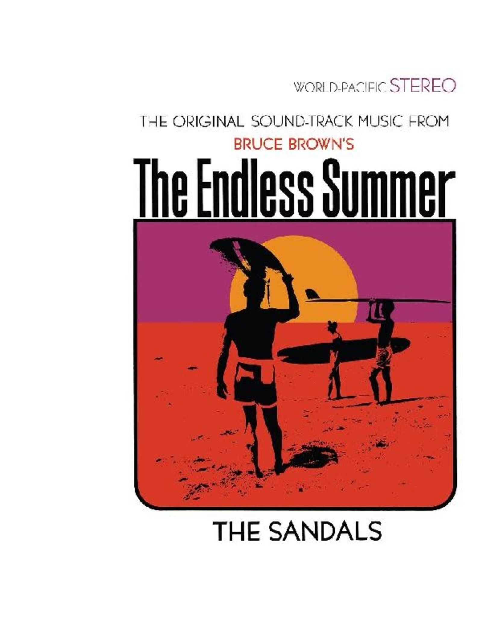 """Real Gone Sandals, The: The Endless Summer (""""Ultra"""" Violet) LP"""