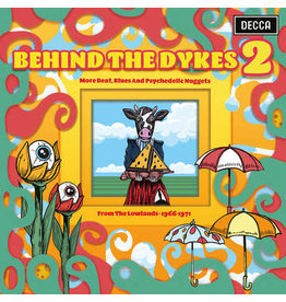 Music on Vinyl Various: 2021RSD2 - Behind The Dykes 2: More Beat, Blues And Psychedelic Nuggets From The Lowlands 1966-1971 LP