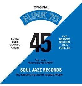 "Soul Jazz Various: Funk 70 7"" Box"