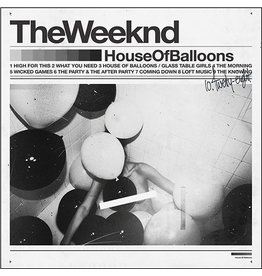 Republic Weeknd: House of Balloons LP