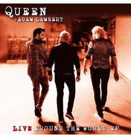 Queen + Adam Lambert + Freddie Mercury: 2021RSD2 - Live Around The World + Love Me Like There's No Tomorrow LP