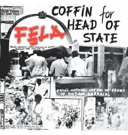 Knitting  Factory Kuti, Fela: Coffin for Head of State LP
