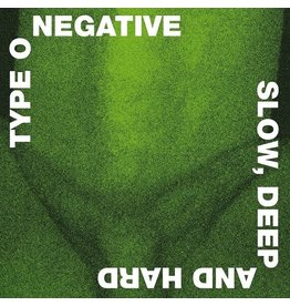 Run Out Groove Type O Negative: Slow, Deep and Hard LP