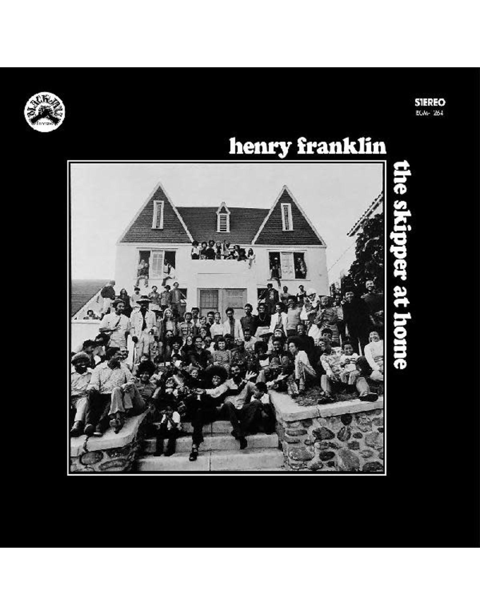 Real Gone Franklin, Henry: The Skipper at Home LP