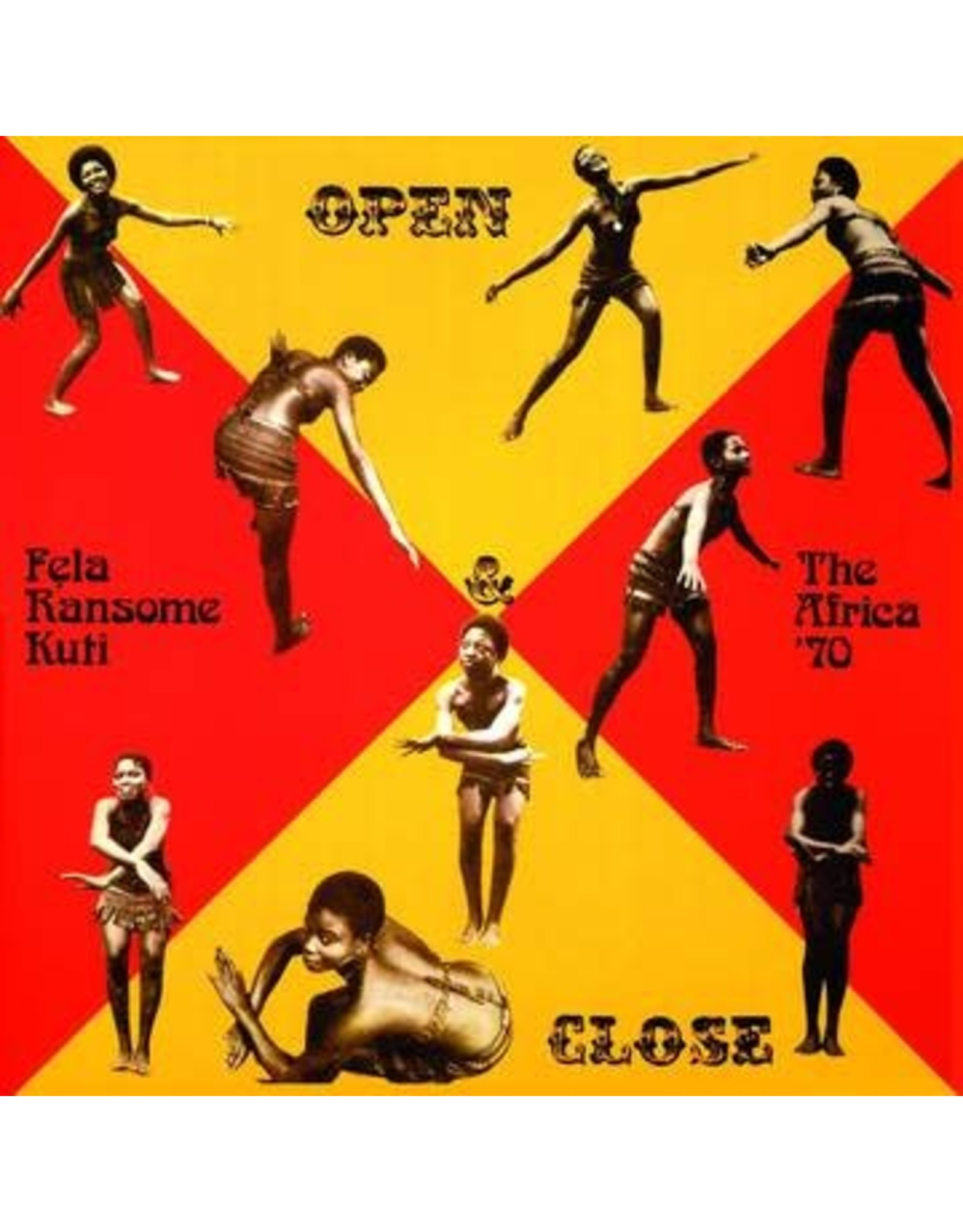 Knitting  Factory Kuti, Fela: Open & Close LP
