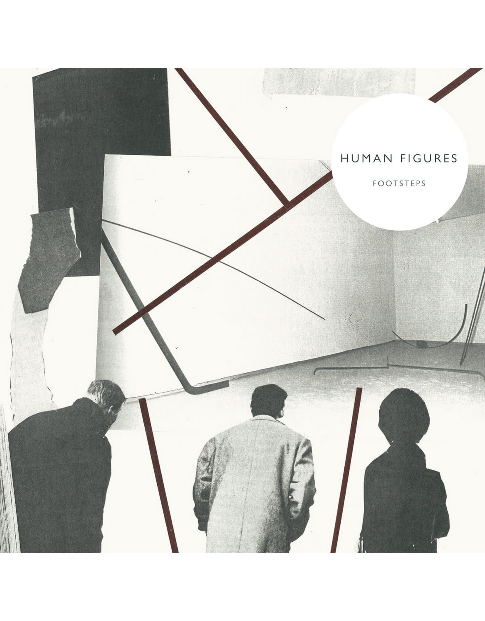 B.F.E. Human Figures: Footsteps LP