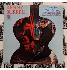 USED: Kenny Burrell: Ode to 52nd Street LP