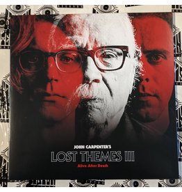 USED: John Carpenter: Lost Themes III LP