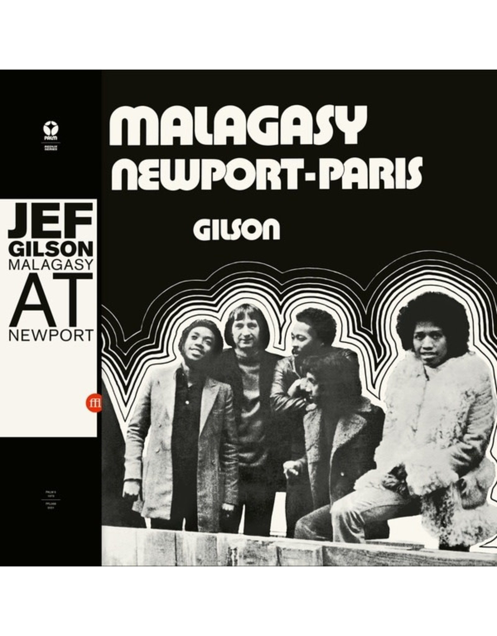 Souffle Continu Gilson, Jef: Malagasy At Newport-Paris LP