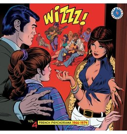 Born Bad Various: Wizzz! French Psychorama 1964-1974 V4 LP