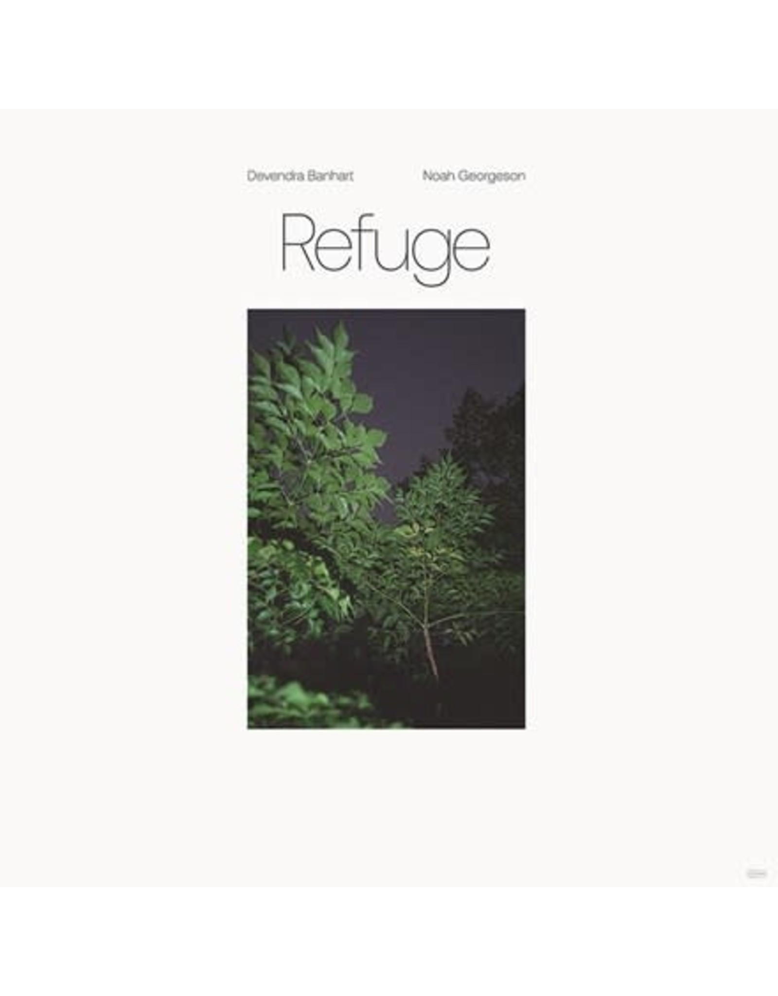 Dead Oceans Banhart, Devendra & Noah Georgeson: Refuge (blue seaglass wave translucent) LP
