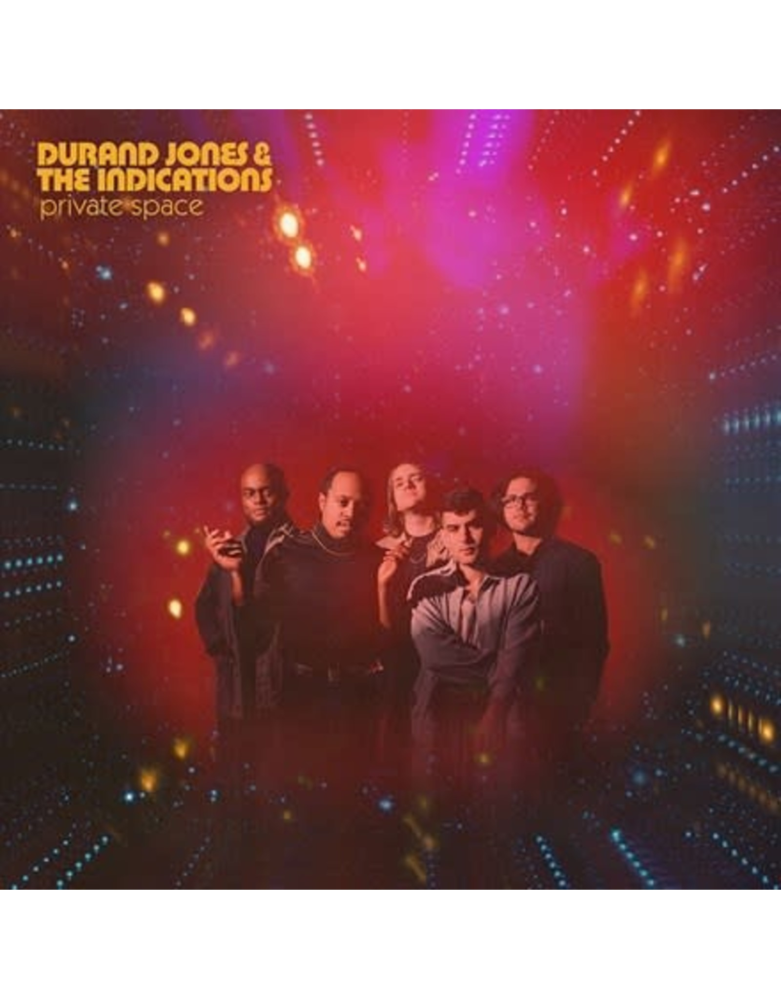Dead Oceans Jones, Durand & The Indications: Private Space (red nebula) LP