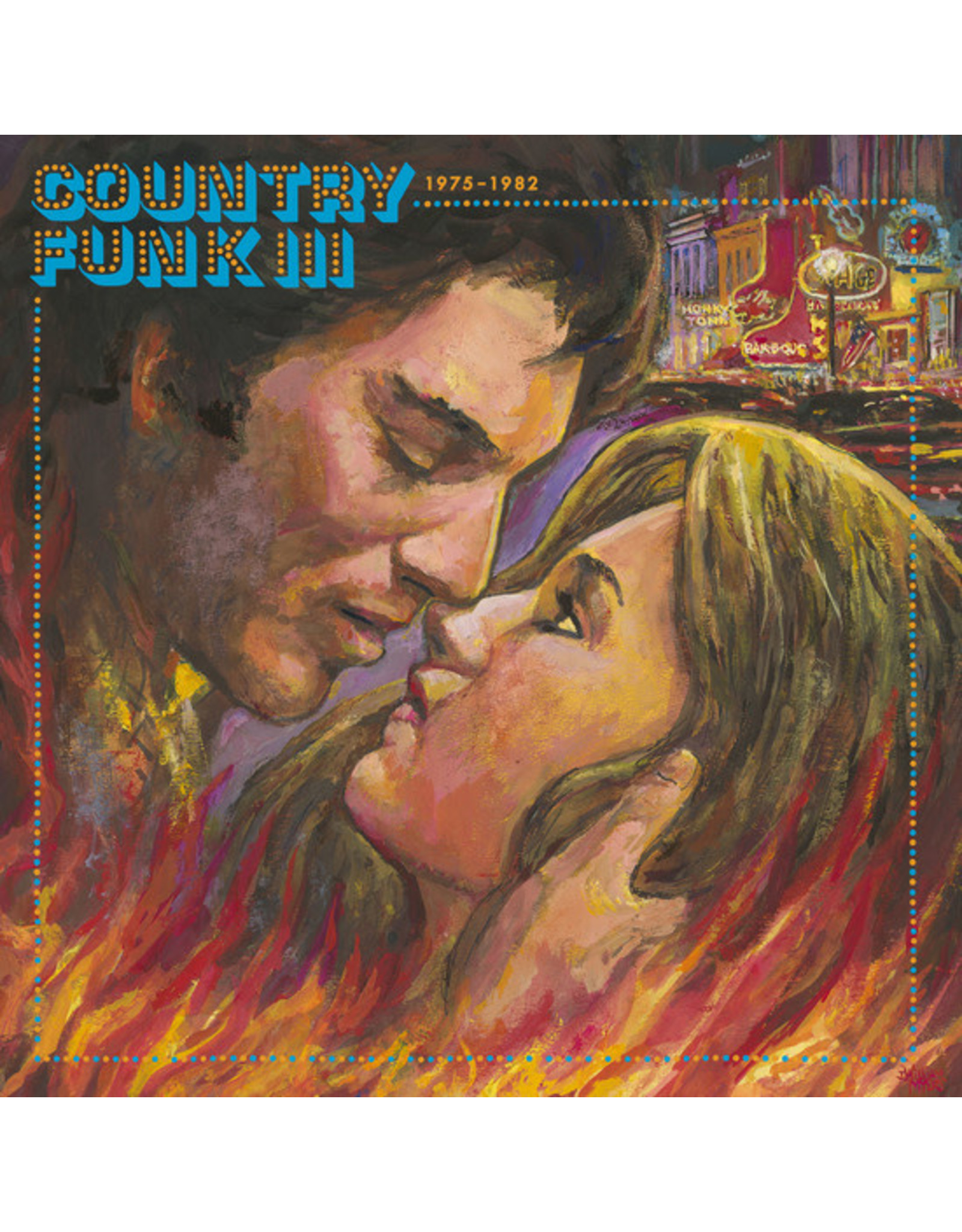 Light in the Attic Various: Country Funk Vol. 3 1975-1982 LP