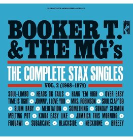 Real Gone Booker T. & the MG's: The Complete Stax Singles Vol. 2 (1968-1974) (2-LP, Red Vinyl) LP
