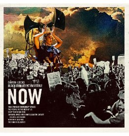 International Anthem Locks, Damon - Black Monument Ensemble: NOW (CRIMSON & BLACK) LP