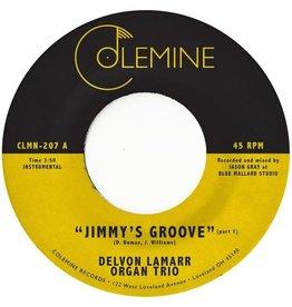 "Colemine Lamarr, Delvon Organ Trio: Jimmy's Groove (pink) 7"""