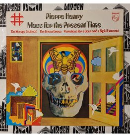 USED: Pierre Henry: Mass for the Present Time LP