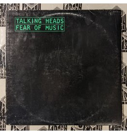 USED: Talking Heads: Fear of Music LP