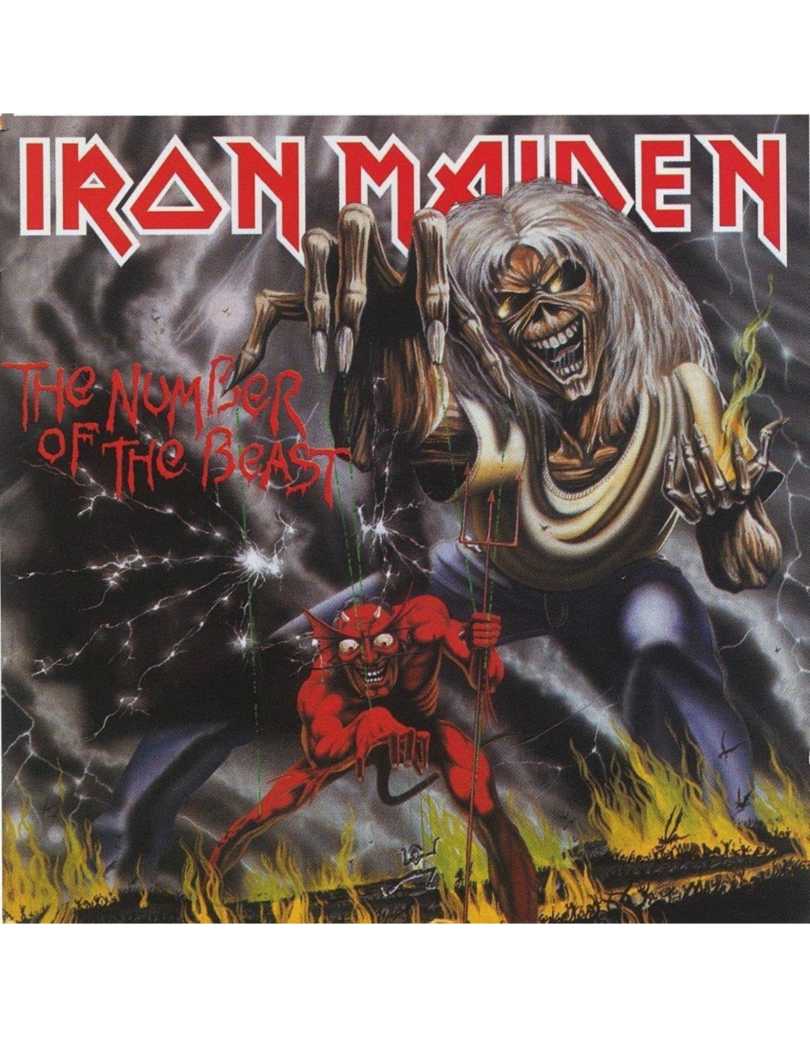 Sanctuary Iron Maiden: The Number of the Beast LP
