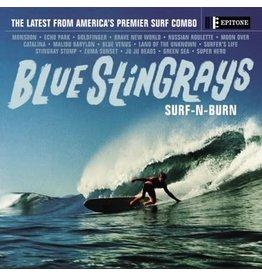 Epitone Blue Stingrays: Surf-n-Burn (blue-indie exclusive) LP