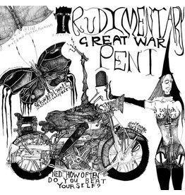 Sealed Rudimentary Peni: Great War LP
