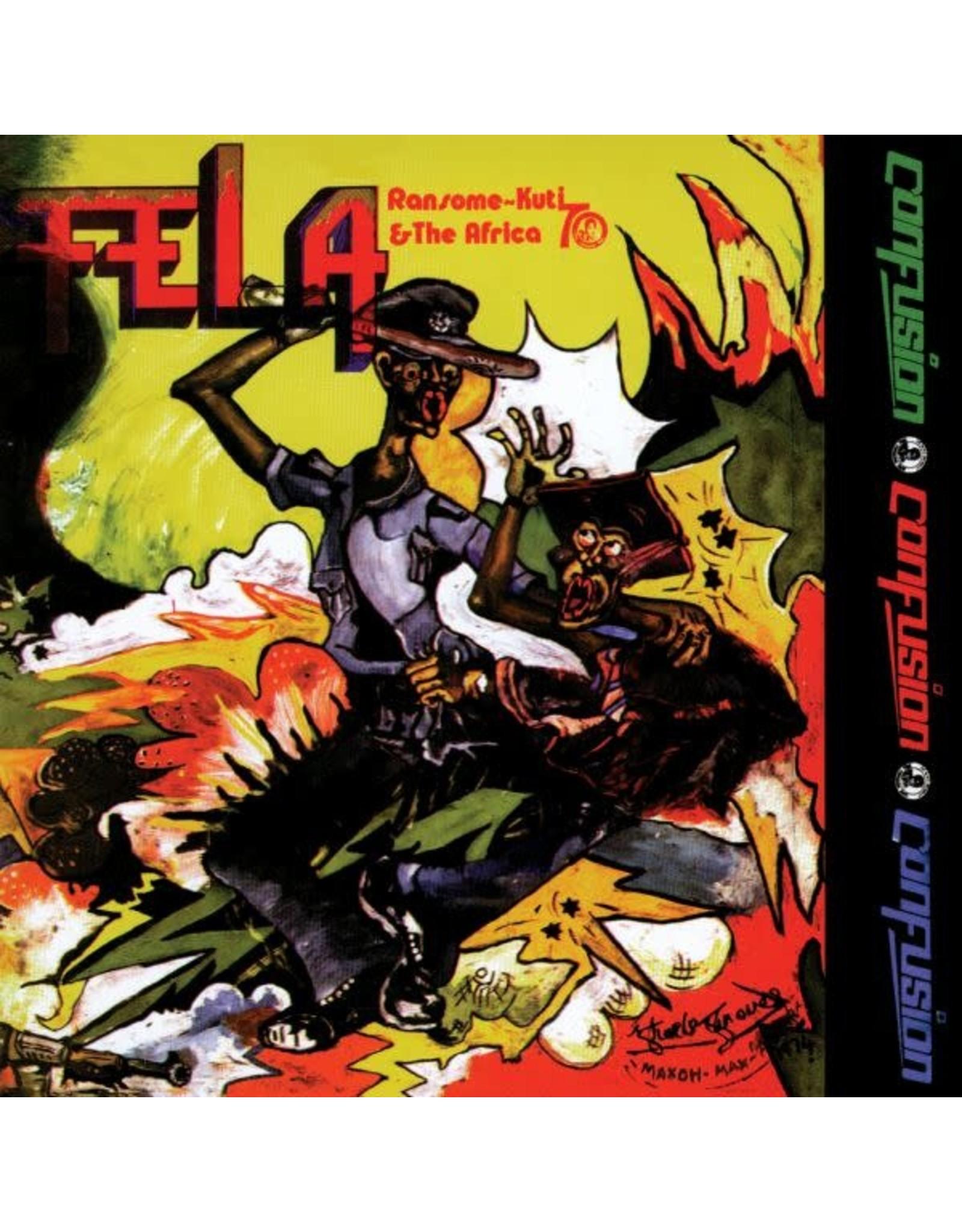 Knitting  Factory Kuti, Fela: Confusion LP