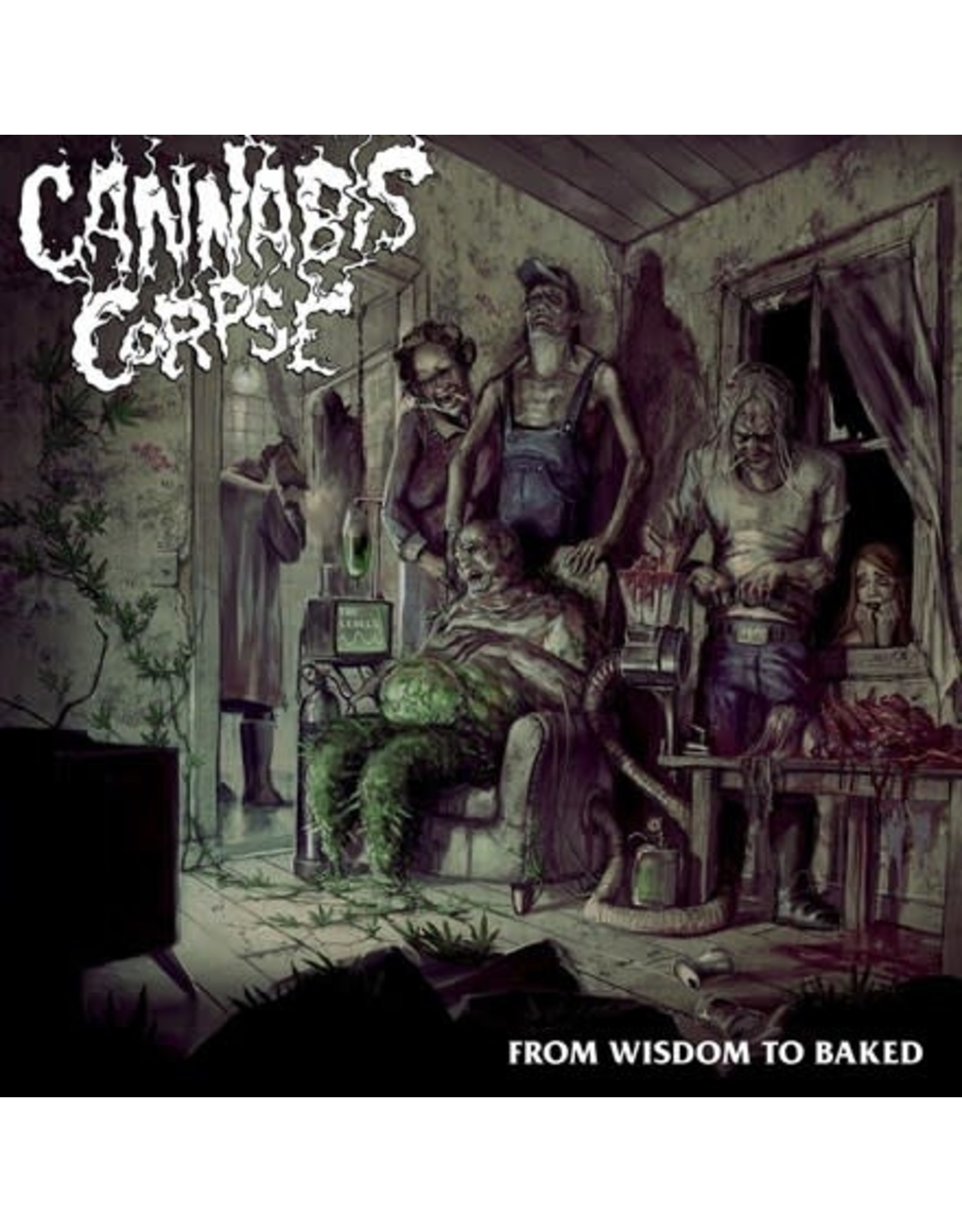 Season of Mist Cannabis Corpse: From Wisdom to Baked LP