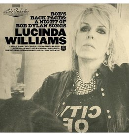 Thirty Tigers Williams, Lucinda: Bob's Back Pages LP