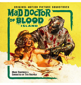 Real Gone Arevalo, Tito: Mad Doctor of Blood Island--OST (Green Chlorophyll Blood) LP