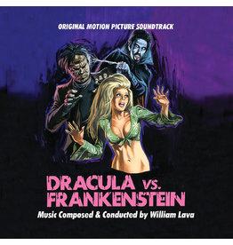 Real Gone Lava, William: Dracula Vs. Frankenstein--OST (50th Anniversary, Pumpkin Orange) LP
