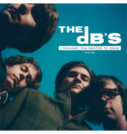 DB's, The: I Thought You Wanted To Know: 1978-1981 (INDIE EXCLUSIVE, TRANSLUCENT GREEN VINYL) LP