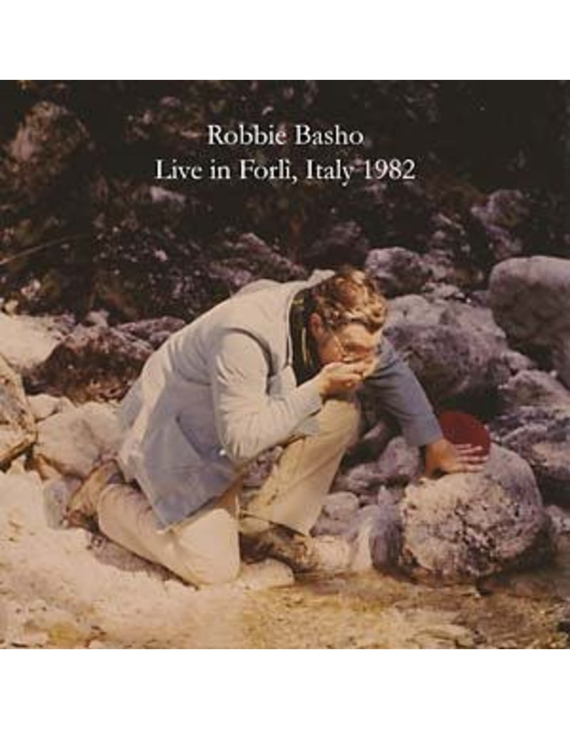 ESP Disk Basho, Robbie: Live Italy '82 LP