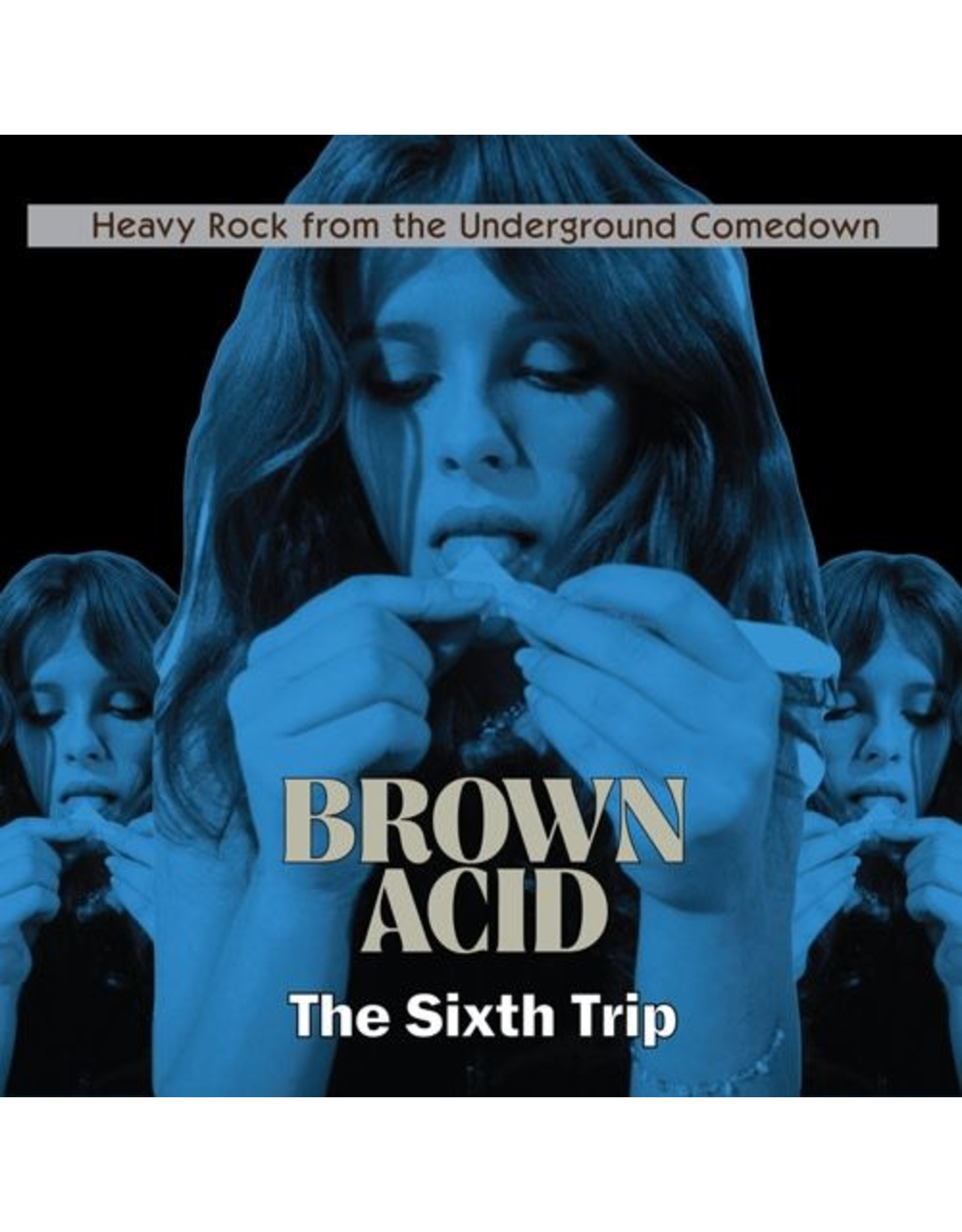 Riding Easy Various: Brown Acid - The Sixth Trip LP