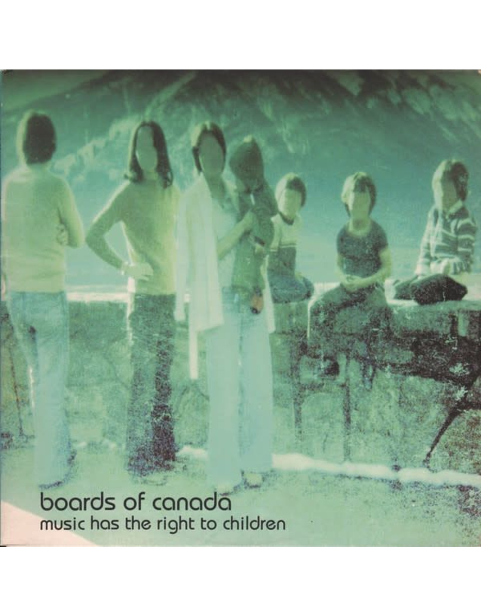 Warp Boards Of Canada: Music Has the Right to Children LP