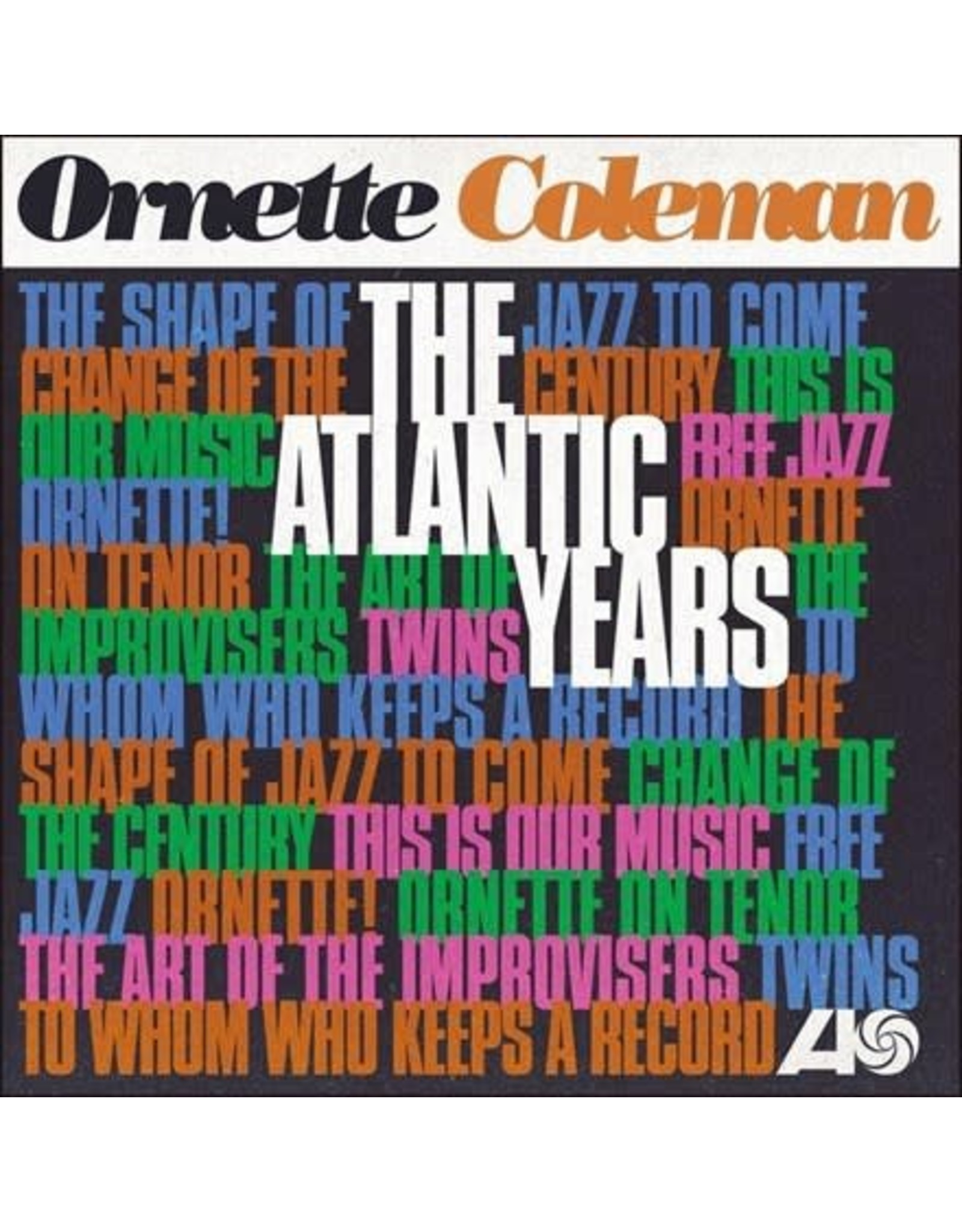 Rhino Coleman, Ornette: The Atlantic Years 10 LP BOX