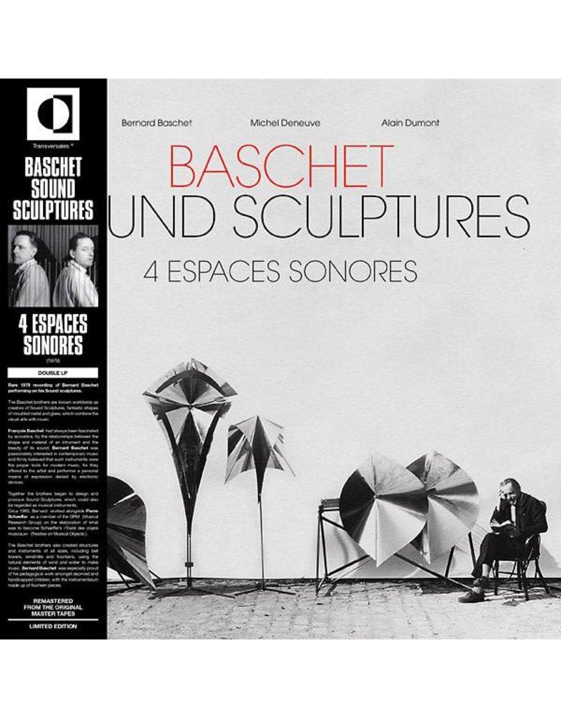 Transversales Disques Baschet/Deneuve: 4 Espaces Sonores 2LP