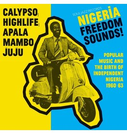 Soul Jazz Various: Nigeria Freedom Sounds LP