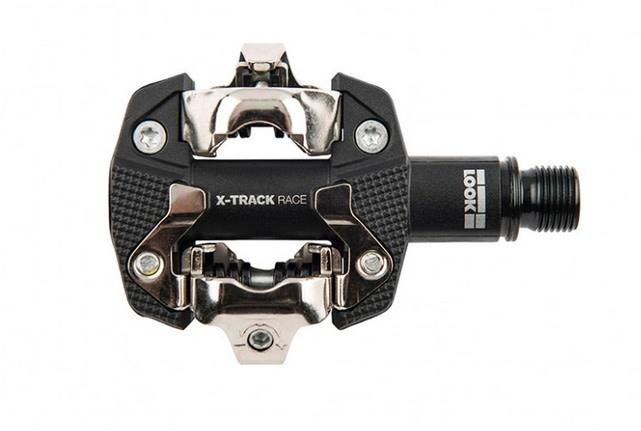 X-Track Race MTB Clipless Pedals Composite/CroMo Black