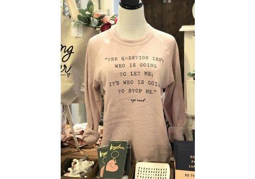 Declaration & Co. Ayn Rand Sweater