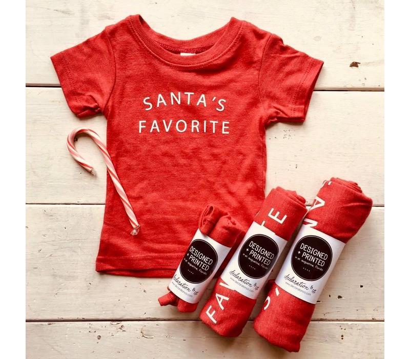 Santa's Favorite Tee - Baby & Kids