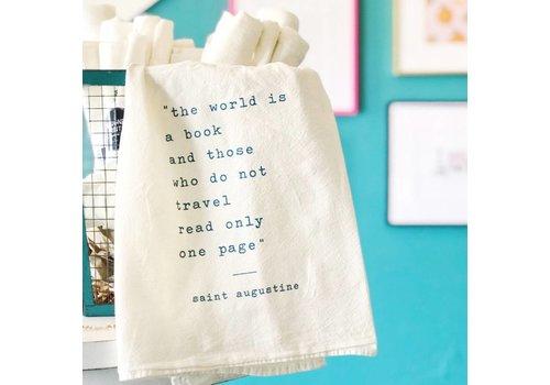 Declaration & Co. DCO Tea Towel World is a book