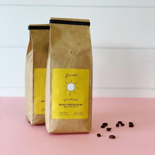Florida Sunshine Coffee Whole Bean