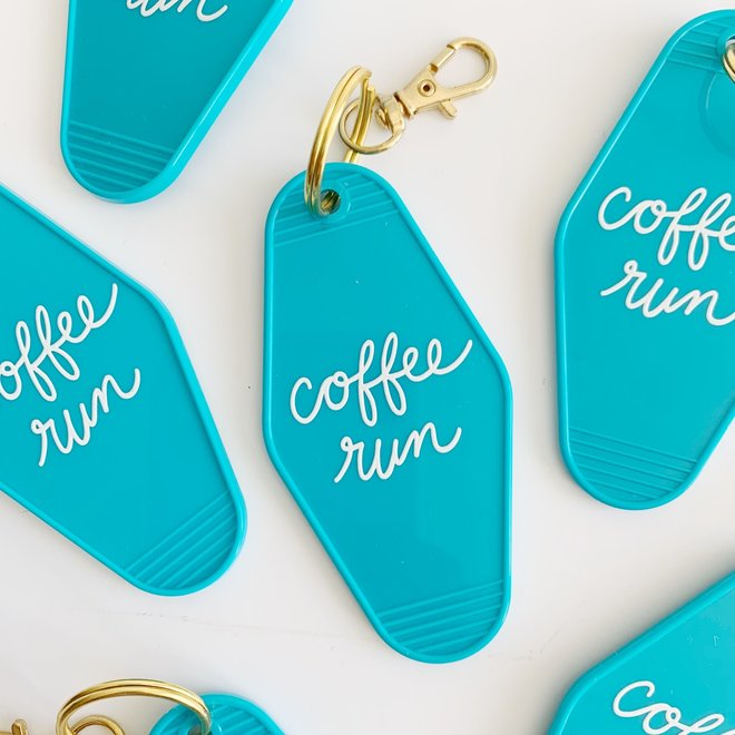 Coffee Run Keychain