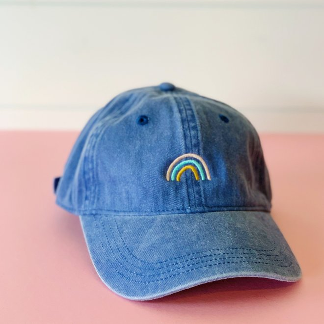 Rainbow Hat Blue