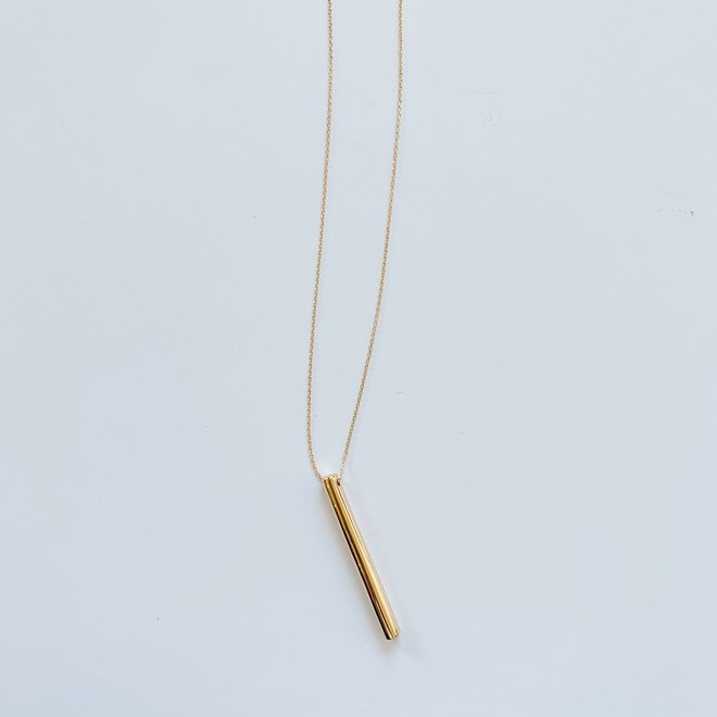 Simple Long Statement Necklace